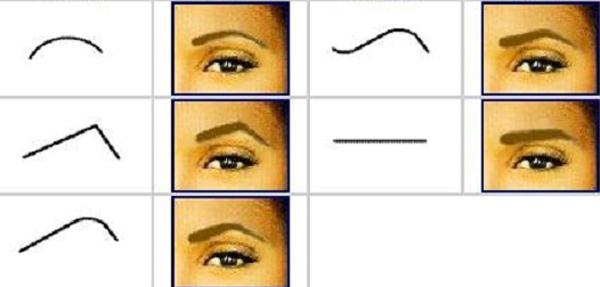 chọn lông mày phù hợp với từng khuôn mặt
